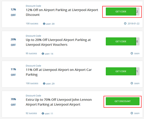 How to redeem Airport Parking voucher